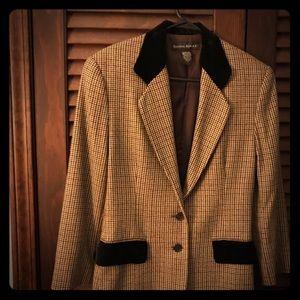Banana republic vintage brown sports blazer